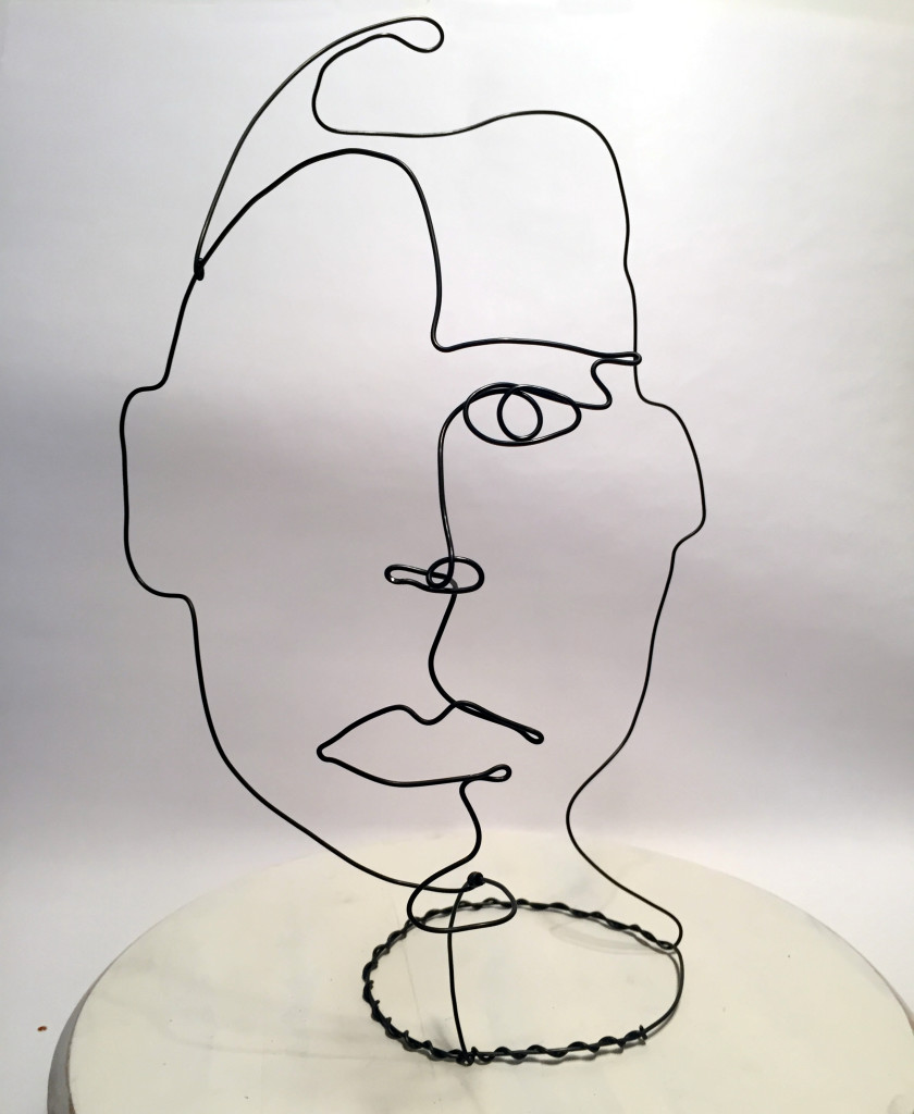 Wire Sculpture by Frank Marino Baker Neiman Marcus