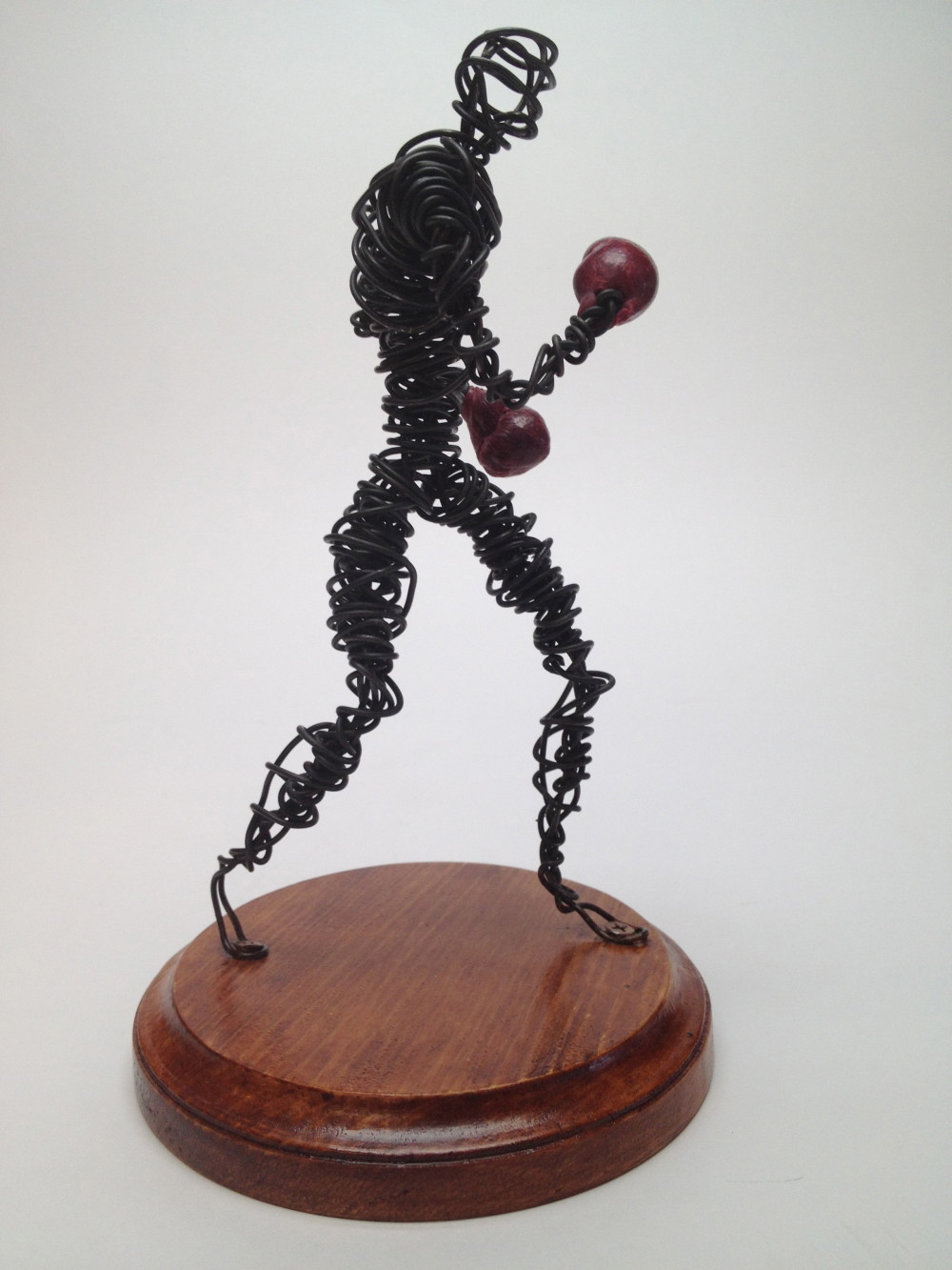 Wire sculpture study 9 frank marino baker drip wire art for How to make a wire sculpture