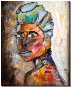 Wire art | Woman