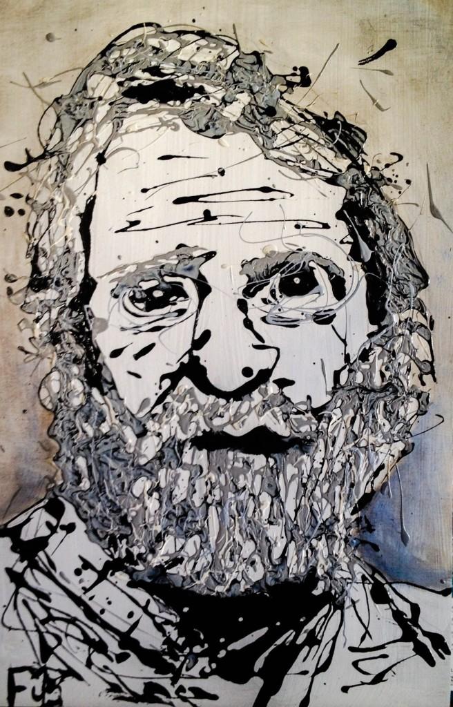 The Beard Drip Painting