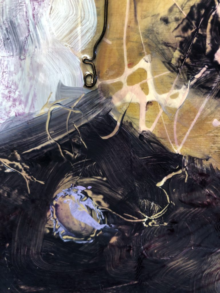 Birth of immortality, Detail, Abstract art , By Frank Marino Baker